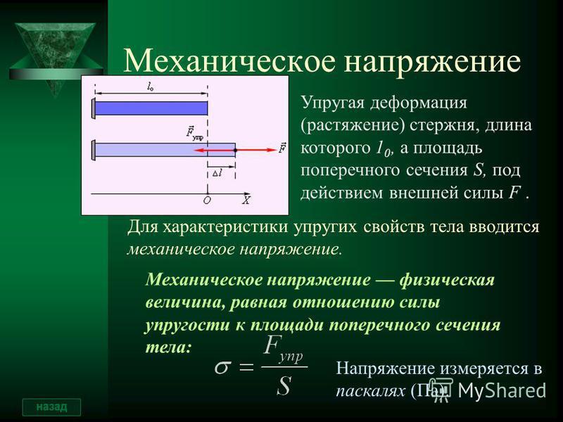 Сдвиг Деформацию, при которой происходит смещение слоев тела относительно друг друга, называют деформацией сдвига