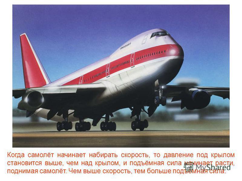 Самолёт поднимается в воздух благодаря подъёмной силе. Эта сила напрямую зависит от профиля крыла. Профиль крыла должен иметь форму, похожую на вытянутую и слегка изогнутую вниз каплю воды.