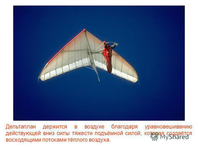 Дельтаплан – это очень лёгкий летательный аппарат, на котором человек может осуществлять взлёт и посадку самостоятельно, без использования каких-либо дополнительных средств и приспособлений.