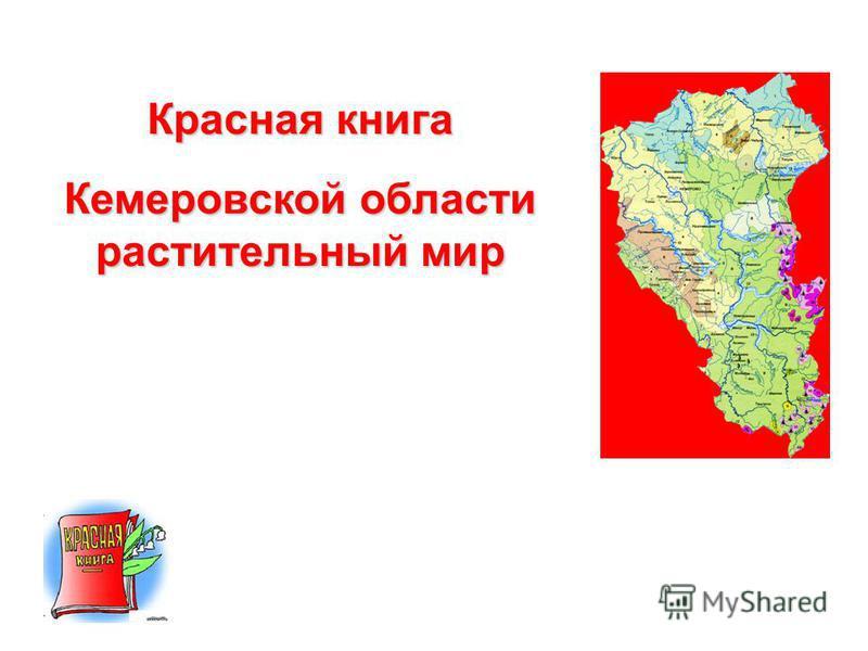 Красная книга Кемеровской области растительный мир