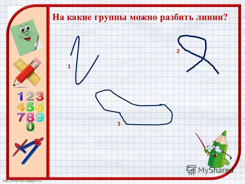 http://ton64ton.blogspot.ru/ На какие группы можно разбить линии?...