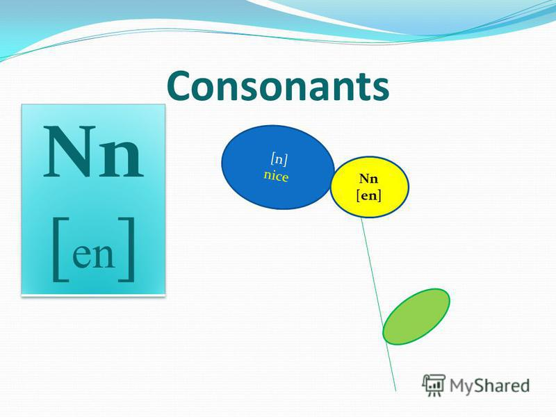 [n] nice Consonants Nn [en]