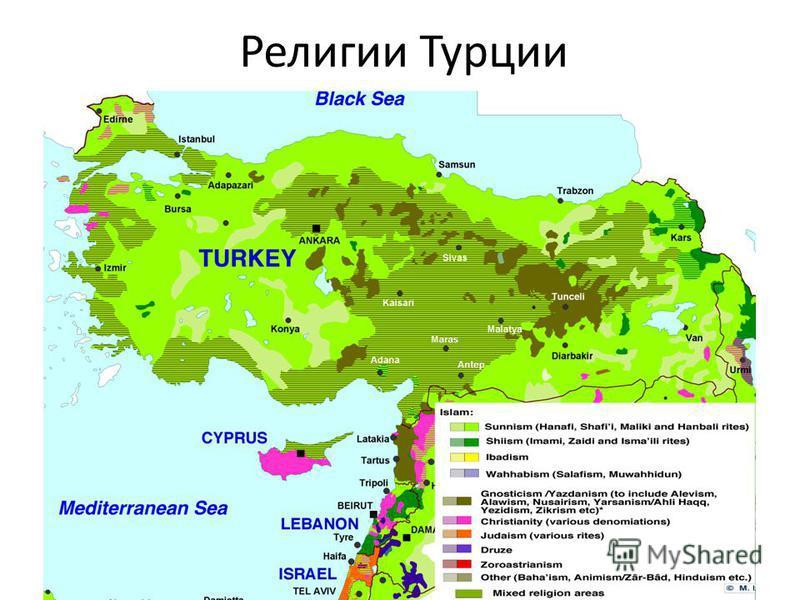 Религии Турции