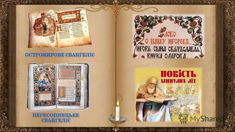 Два типи письма на Київській Русі Кирилиця (від імені Костянтина Філософа, в чернецтві Кирила) Глаголиця (від давньослов`янського глагола, що означає слово).