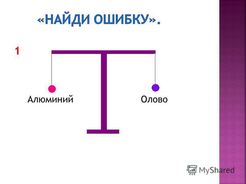 1 Алюминий Олово
