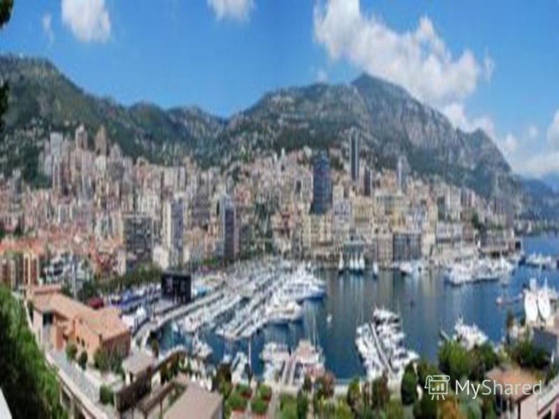 Монако Загальна площа: 1,95 кв. км Населення: 34,48 тис осіб. Столиця: Монако - 975 осіб. Форма правління: конституційна монархія Голова держави: князь Державна мова: французька Грошова одиниця: євро