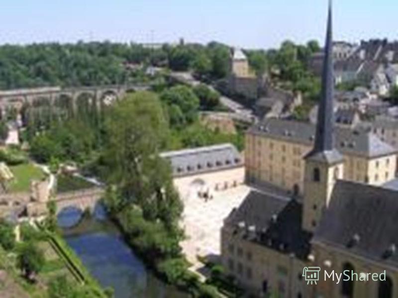 Люксембург Загальна площа: 2,5 тис кв. км Населення: 459 тис осіб. Столиця: Люксембург - 76,38 тис осіб. Форма правління: конституційна монархія Голова держави: Великий герцог Державна мова: люксембурзька, німецька, французька Грошова одиниця: євро