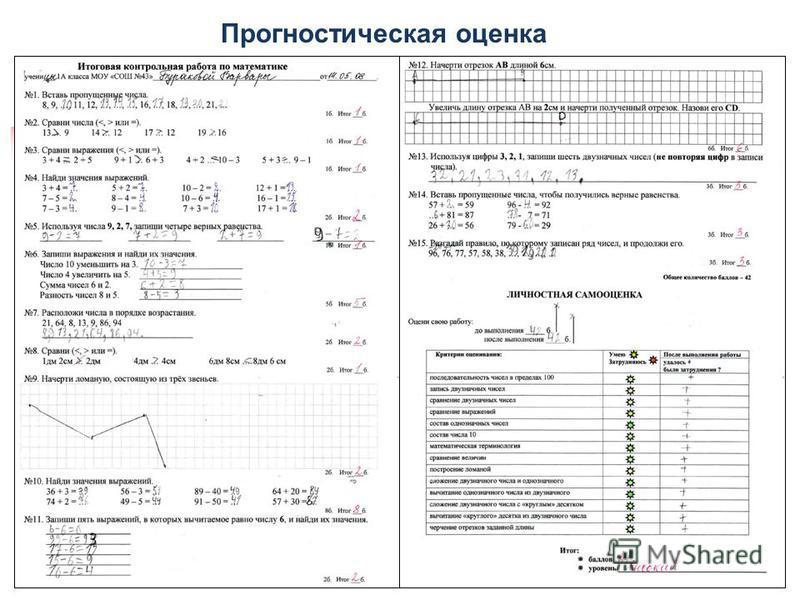 Прогностическая оценка