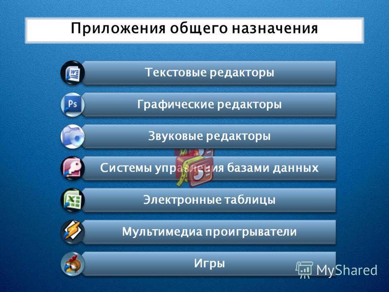 Приложения общего назначения