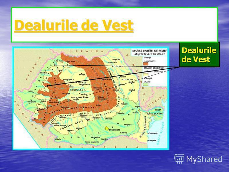 Dealurile de Vest Dealurile de Vest Dealurile de Vest Dealurile de Vest