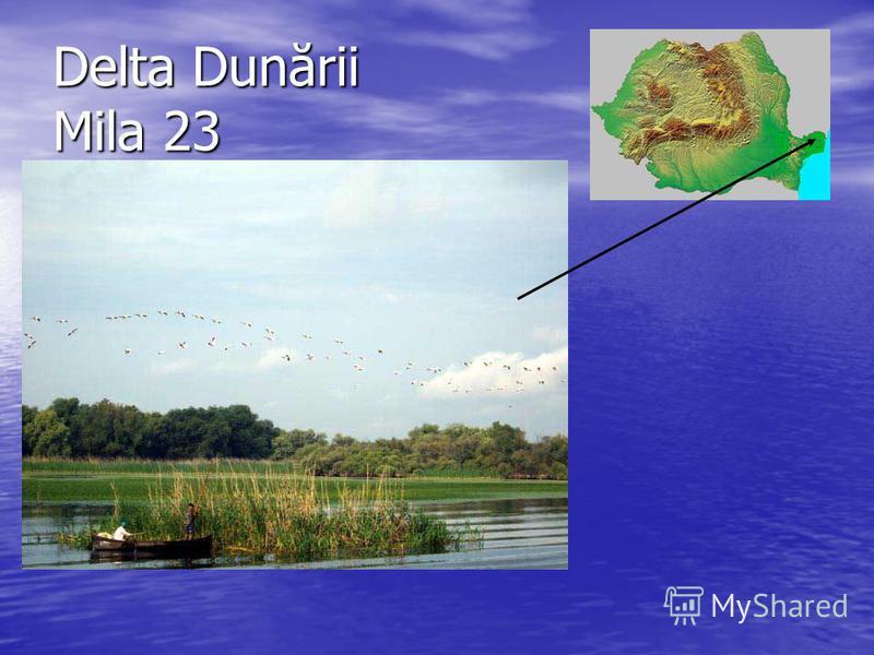 Delta Dunării Mila 23
