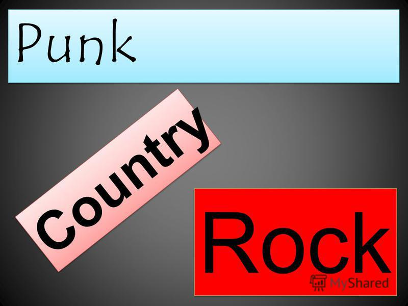 Punk Country Rock