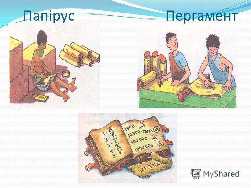 Папірус Пергамент