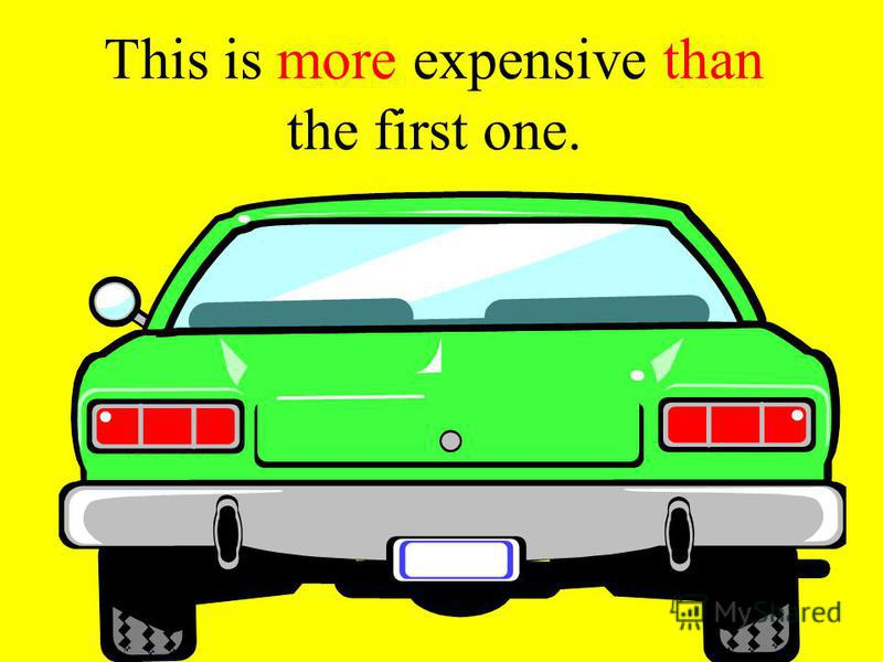 This car is expensive