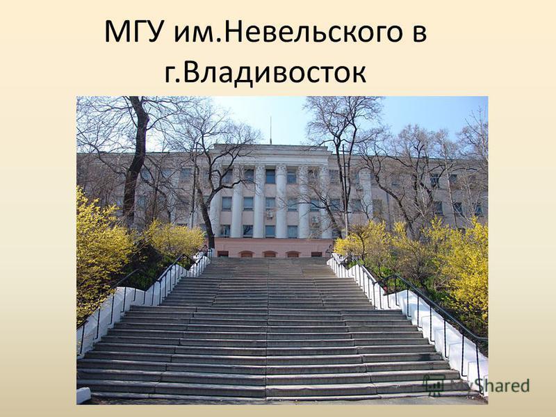 МГУ им.Невельского в г.Владивосток