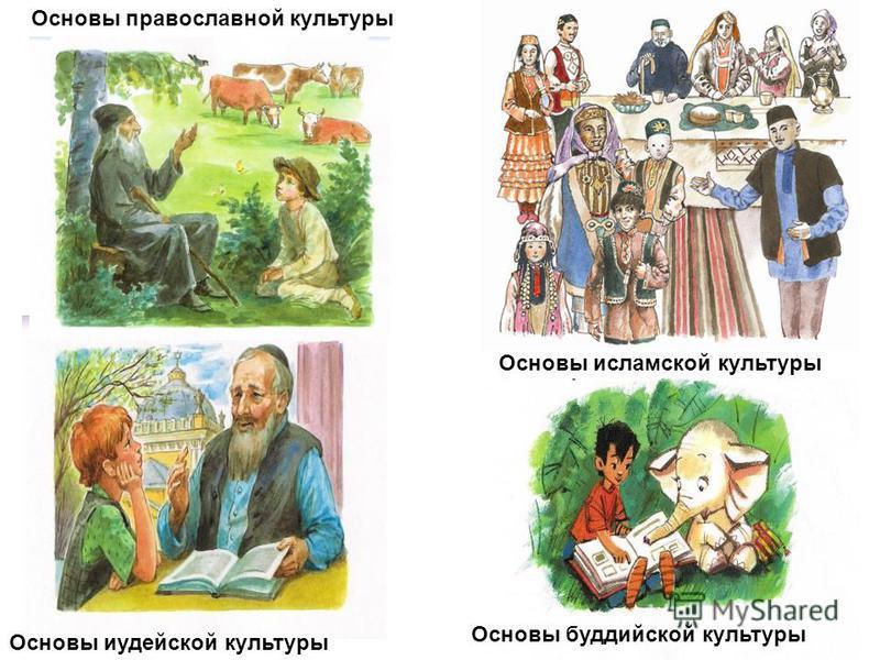 Основы православной культуры Основы иудейской культуры Основы буддийской культуры Основы исламской культуры