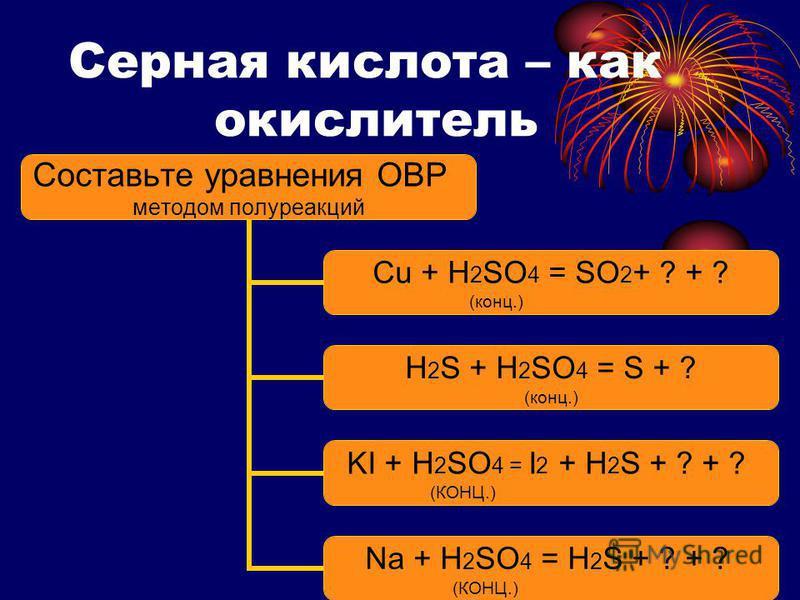 ? ? ? ? ? ? ? ? ? ? Определите степени окисления серы в соединениях H 2 S SO 2 H 2 SO 4 Определите степени окисления азота в соединениях N 2 O NO 2 HNO 2 HNO 3