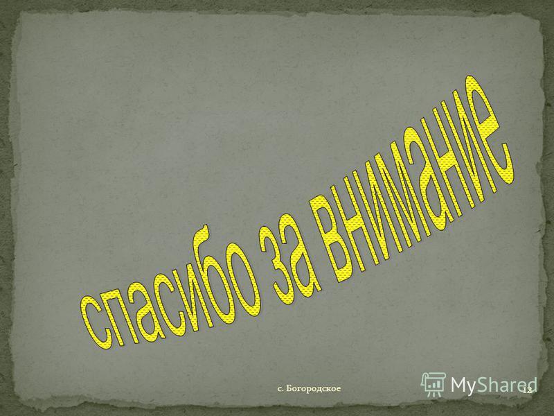 с. Богородское 12