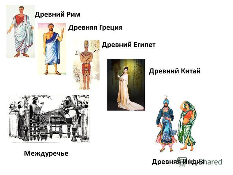 Древний Рим Древняя Греция Древний Египет Междуречье Древний Китай Древняя Индия