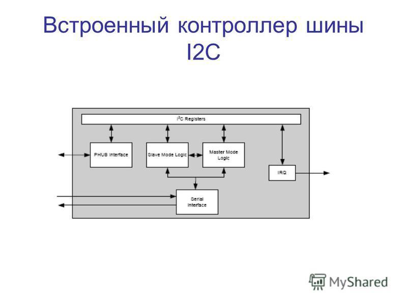 Встроенный контроллер шины I2C
