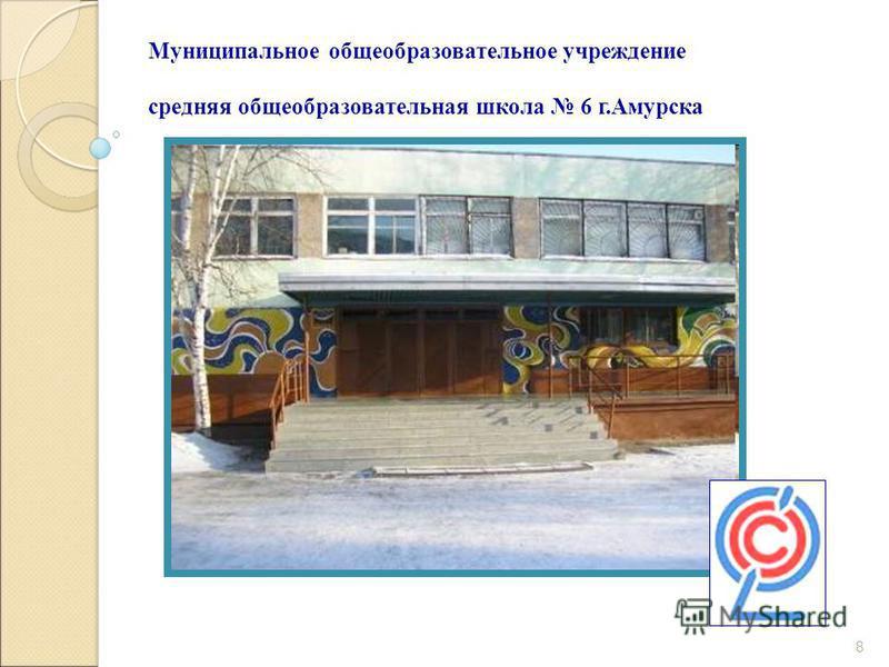 8 Муниципальное общеобразовательное учреждение средняя общеобразовательная школа 6 г.Амурска