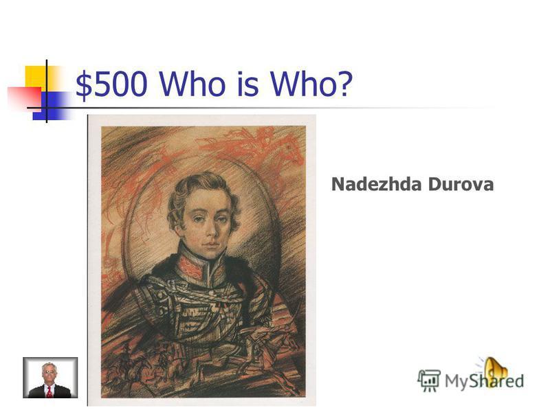 $400 Who is Who? Denis Davidov