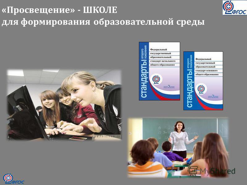 « Просвещение» - ШКОЛЕ для формирования образовательной среды 14