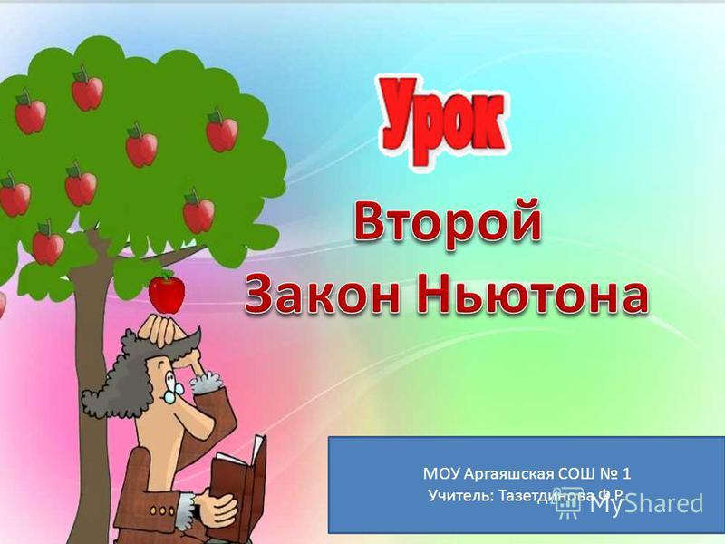 МОУ Аргаяшская СОШ 1 Учитель: Тазетдинова Ф.Р.
