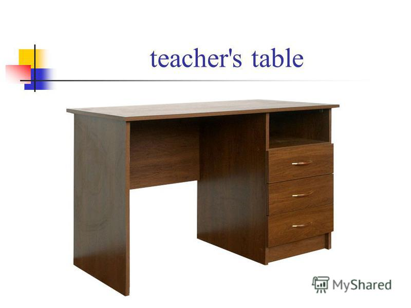 teacher's table