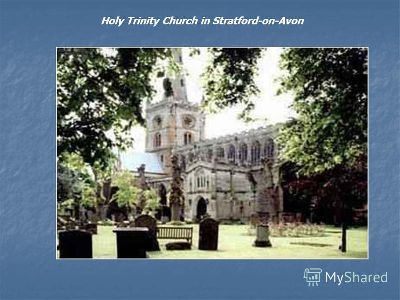 Holy Trinity Church in Stratford-on-Avon