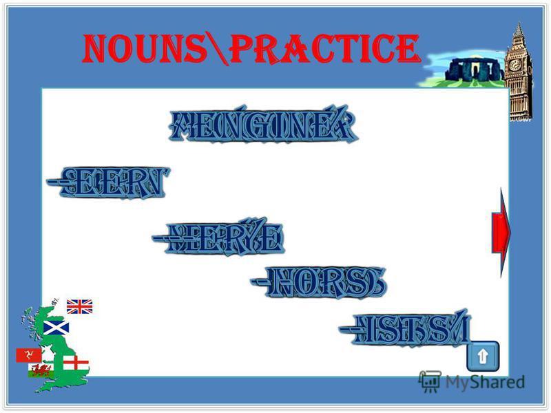 Nouns \theory Суффиксы, образующие существительные от прилагательных: - nessсвойство/ качествоkindness -ty, - ity состояние/ условие / качество activity - ageединицы измеренияpercentage -ageрезультат действияpackage