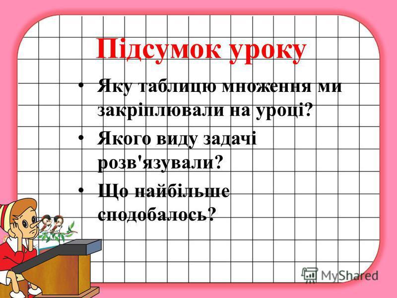 Домашнє завдання Розв'язати задачу 348, обчислити вирази 349, повторити вивчені випадки таблиці множення та ділення