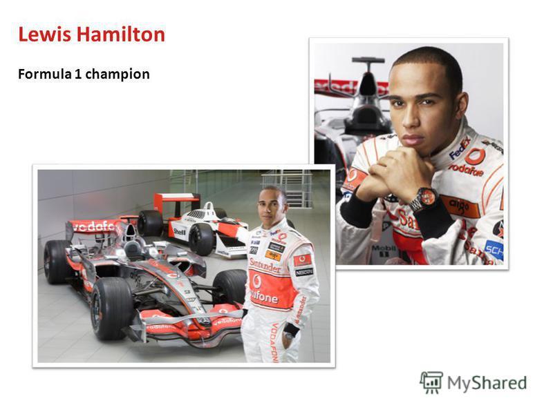 Lewis Hamilton Formula 1 champion
