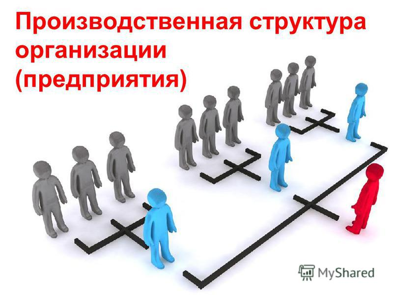 Производственная структура организации (предприятия)
