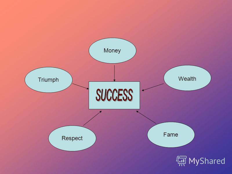 Fame Wealth Respect Money Triumph