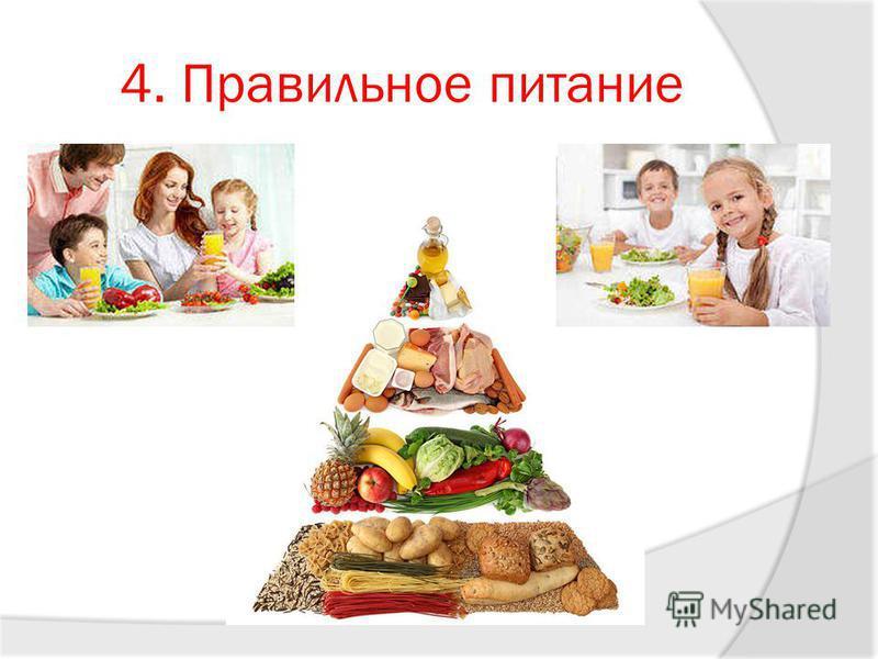 4. Правильное питание