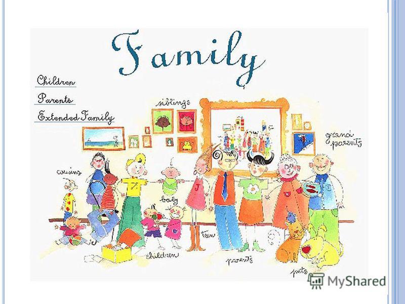 M Y FAMILY