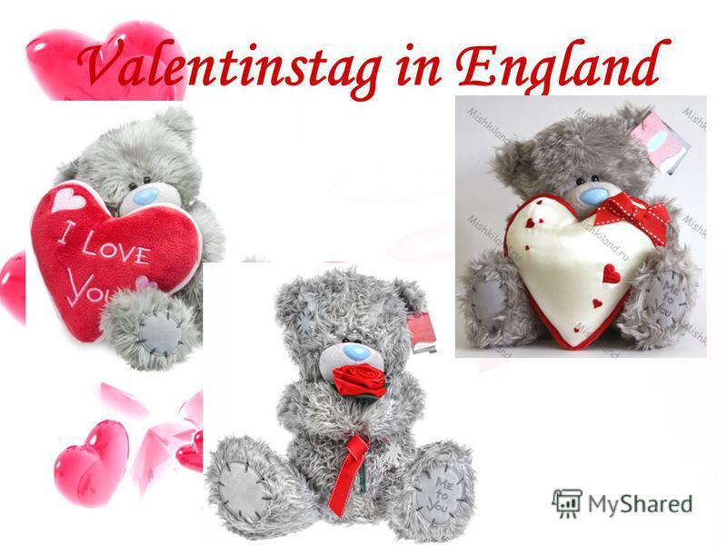 Valentinstag in England