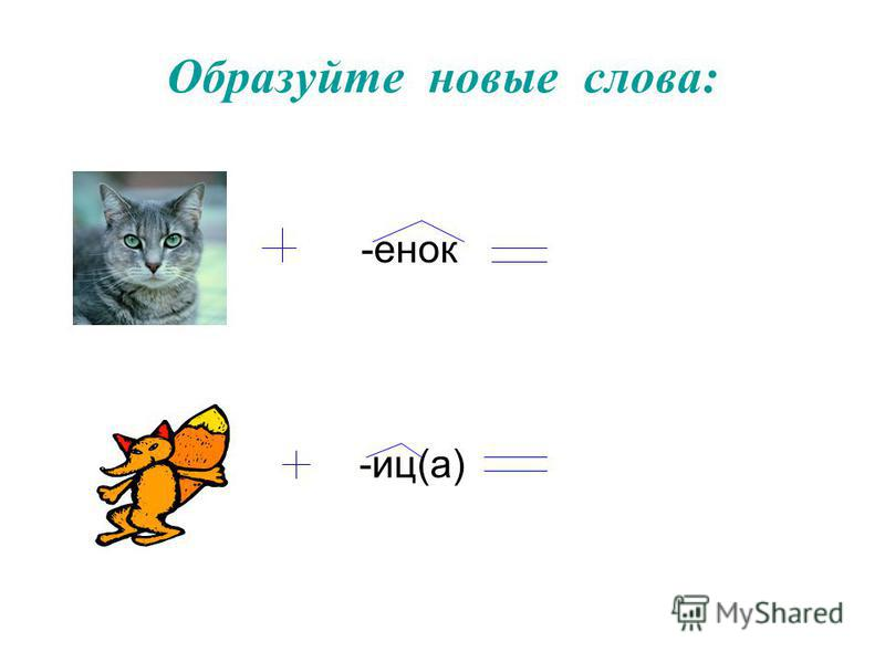 Суффиксальный способ + ^ Лист + -в(а) = листва Лед + - ян(ой) = ледяной Звон + -и(ть) = звонить