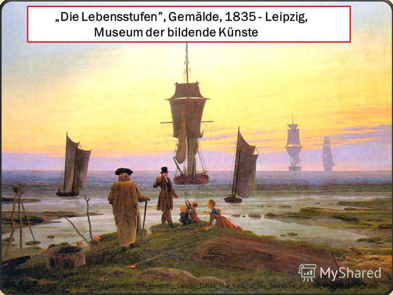 http://www.arttrans.com.ua/imageproduct/355/Friedrih__Caspar_David_The_View_of_the_Seashore_in_Vike_fine_art_print_b.jpg Die Lebensstufen, Gemälde, 1835 - Leipzig, Museum der bildende Künste