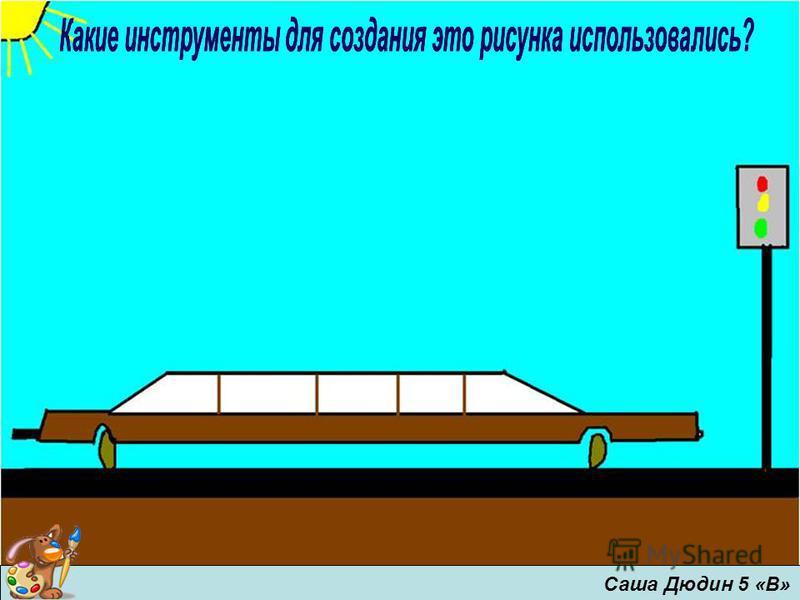 Саша Дюдин 5 «В»