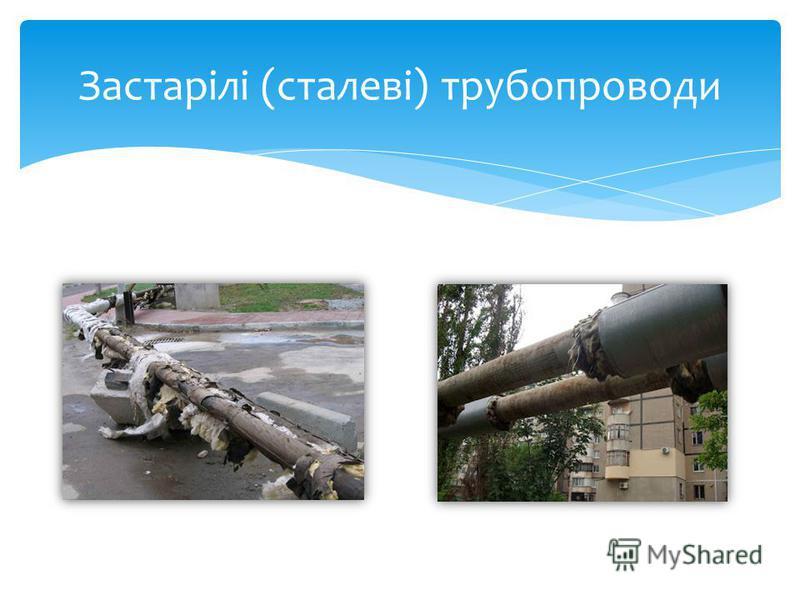 Застарілі (сталеві) трубопроводи