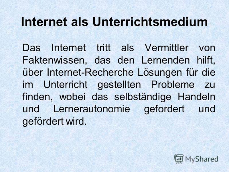 handeln im internet