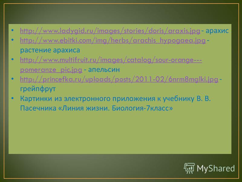http://www.ladygid.ru/images/stories/doris/araxis.jpg - арахис http://www.ladygid.ru/images/stories/doris/araxis.jpg http://www.ebitki.com/img/herbs/arachis_hypogaea.jpg - растение арахиса http://www.ebitki.com/img/herbs/arachis_hypogaea.jpg http://w