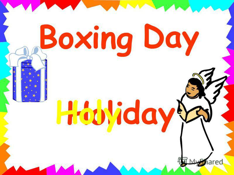 Holi Box Day day ing Holy