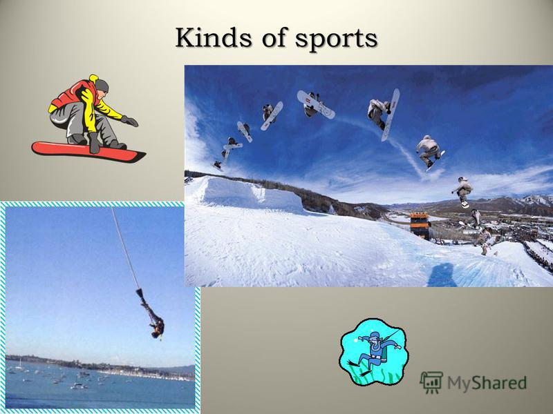 Kinds of sports