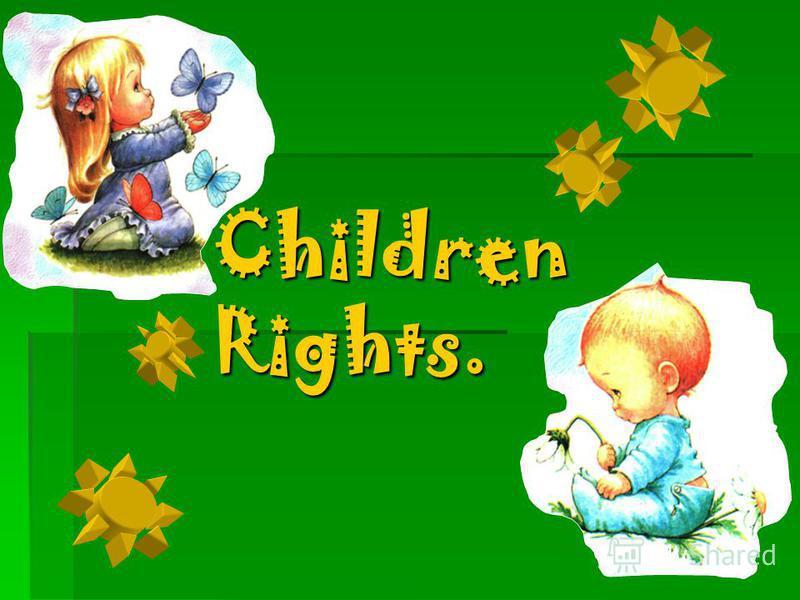Children Rights.