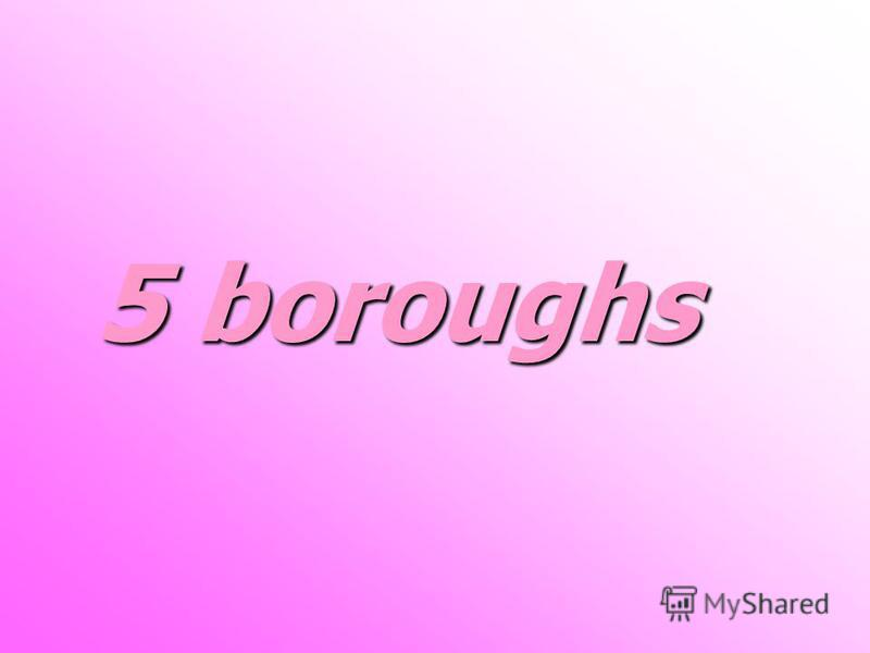 5 boroughs 5 boroughs