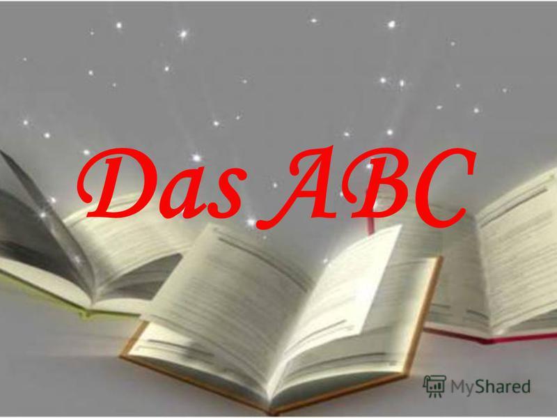 Das ABC