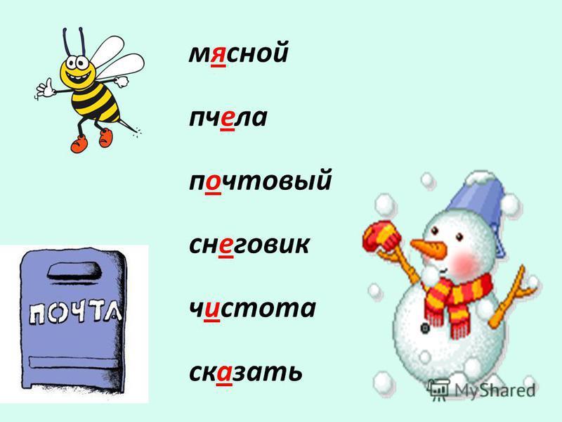 мясной пчела почтовый снеговик чистота сказать ч